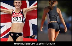 marathoner body