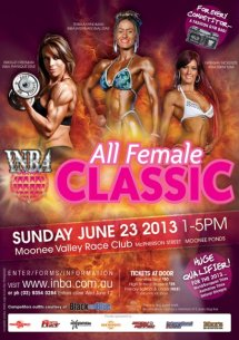 2013 All Female Classic: Bring on contest no. 3! Preparation begins now until June 23.