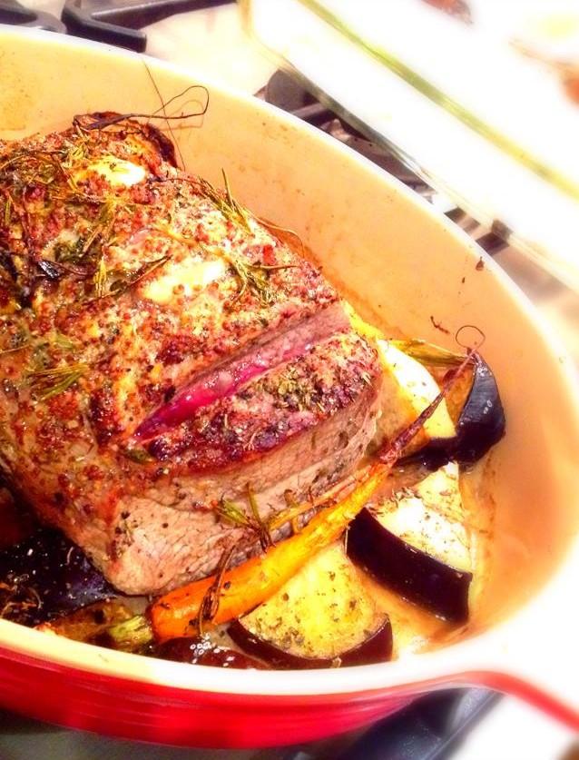 beef eye round roast paleo