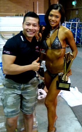 personal trainer bodybuilding competition